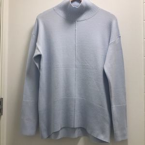 French Connection High Neck Centre Seam Sweater